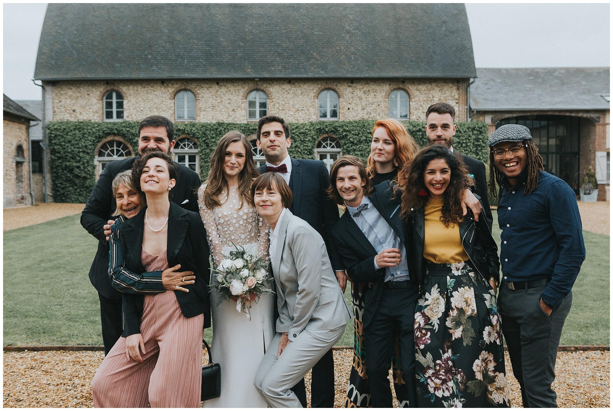 Kateryna-photos-photographer-Rouen-domaine-des-evis-mariage-haute-normandie-photos-de-groupe